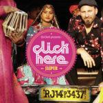 Dj Click album sleeve Click Here Jaipur