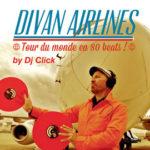 Dj Click album cover Divan Airlines